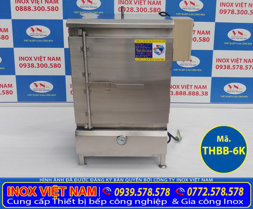 Thiết bị bếp inox công nghiệp - Địa chỉ bán tủ hấp cơm công nghiệp giá tốt tại TPHCM.