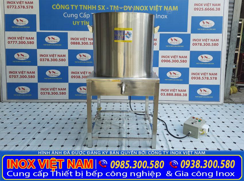 Địa chỉ mua nồi nấu nước sôi bằng điện công nghiệp, nồi đun nước nóng công nghiệp giá tốt tại TPHCM.