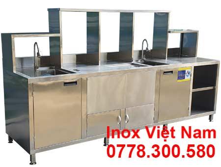 Quầy Bar Inox 2m5 QB-31