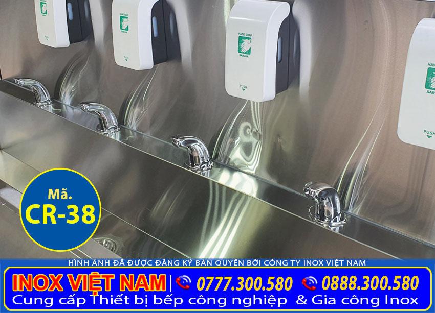 Bồn rửa chén nhà hàng, chậu rửa inox công nghiệp giá rẻ chất lượng tại Inox Việt Nam.