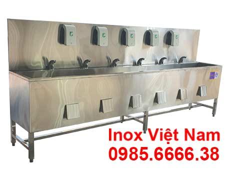 Máng Rửa Tay Inox Công Nghiệp CR-38