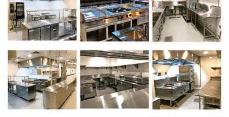 Thiết kế bếp công nghiệp, thiết kế bếp nhà hàng khách sạn.