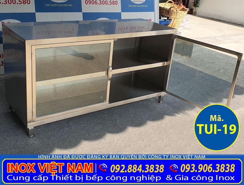 Báo giá tủ inox 304 chứa đồ TUI-19