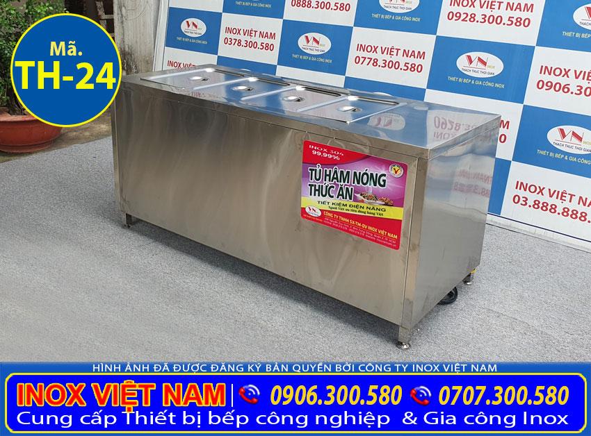 Chi tiết các khay GN tủ giữ nóng thức ăn TH-24.