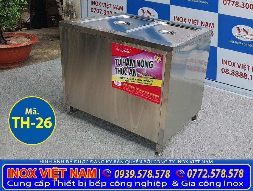 Địa chỉ mua tủ hâm nóng thức ăn giá tốt tại TPHCM.