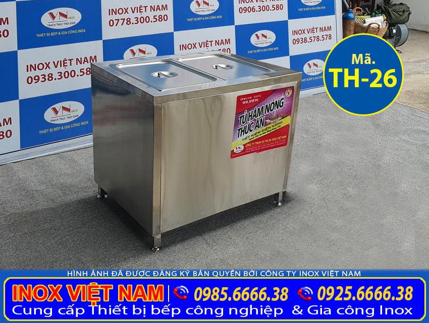 Báo giá tủ hâm nóng thức ăn công nghiệp TH-25.
