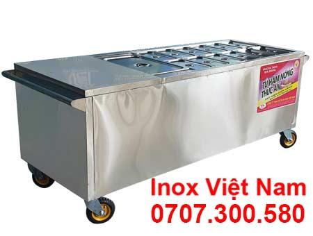 Quầy hâm nóng thức ăn 13 khay TH-22.