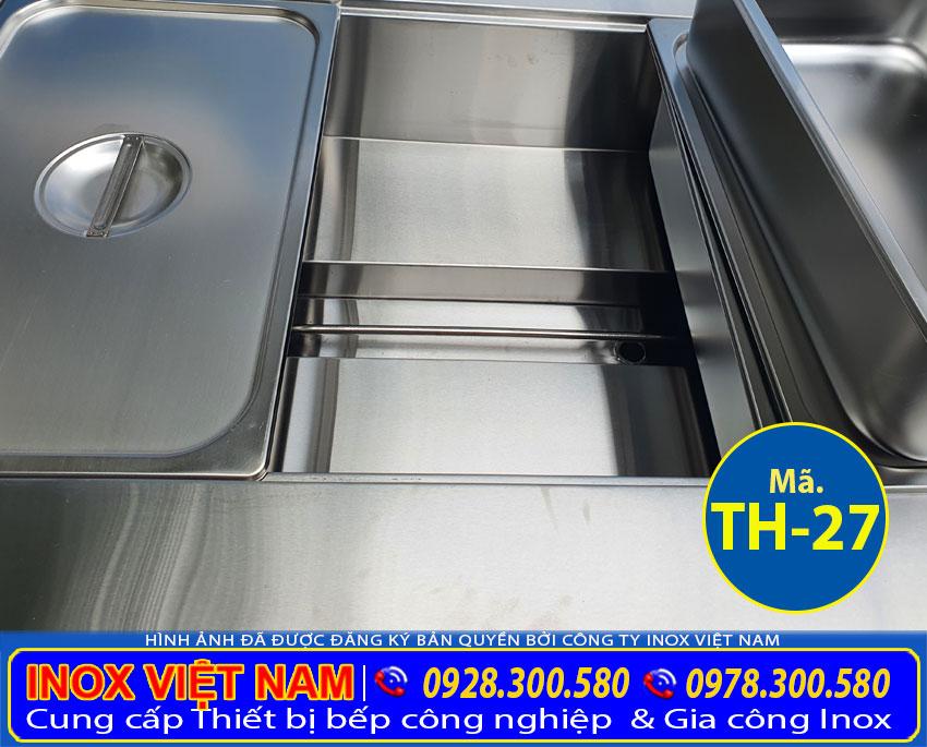 Chi tiết thanh nhiệt tủ hâm nóng thức ăn TH-27.