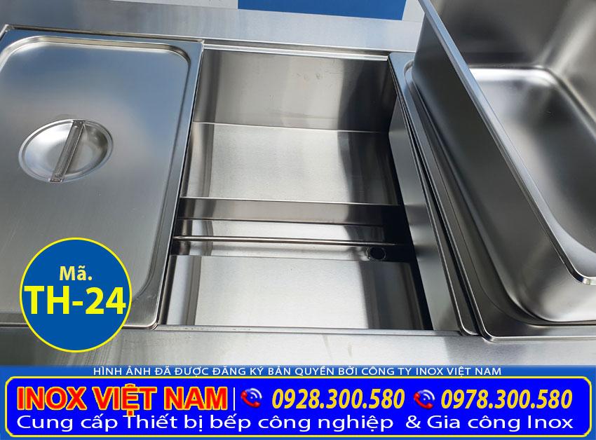 Chi tiết thanh nhiệt tủ hâm nóng thức ăn TH-24.