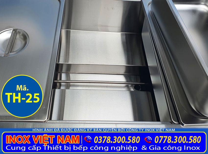 Chi tiết thanh nhiệt tủ hâm nóng thức ăn TH-25.