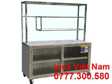 Tủ Bếp Inox Công Nghiệp TUI-21