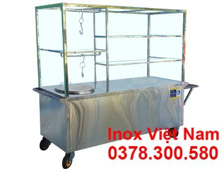 Xe Bán Phở Inox XBP-04