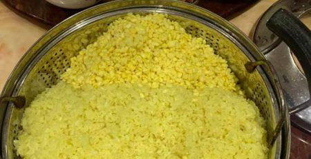 Cách làm xôi vò có hương vị thơm ngon và không bị nhão.